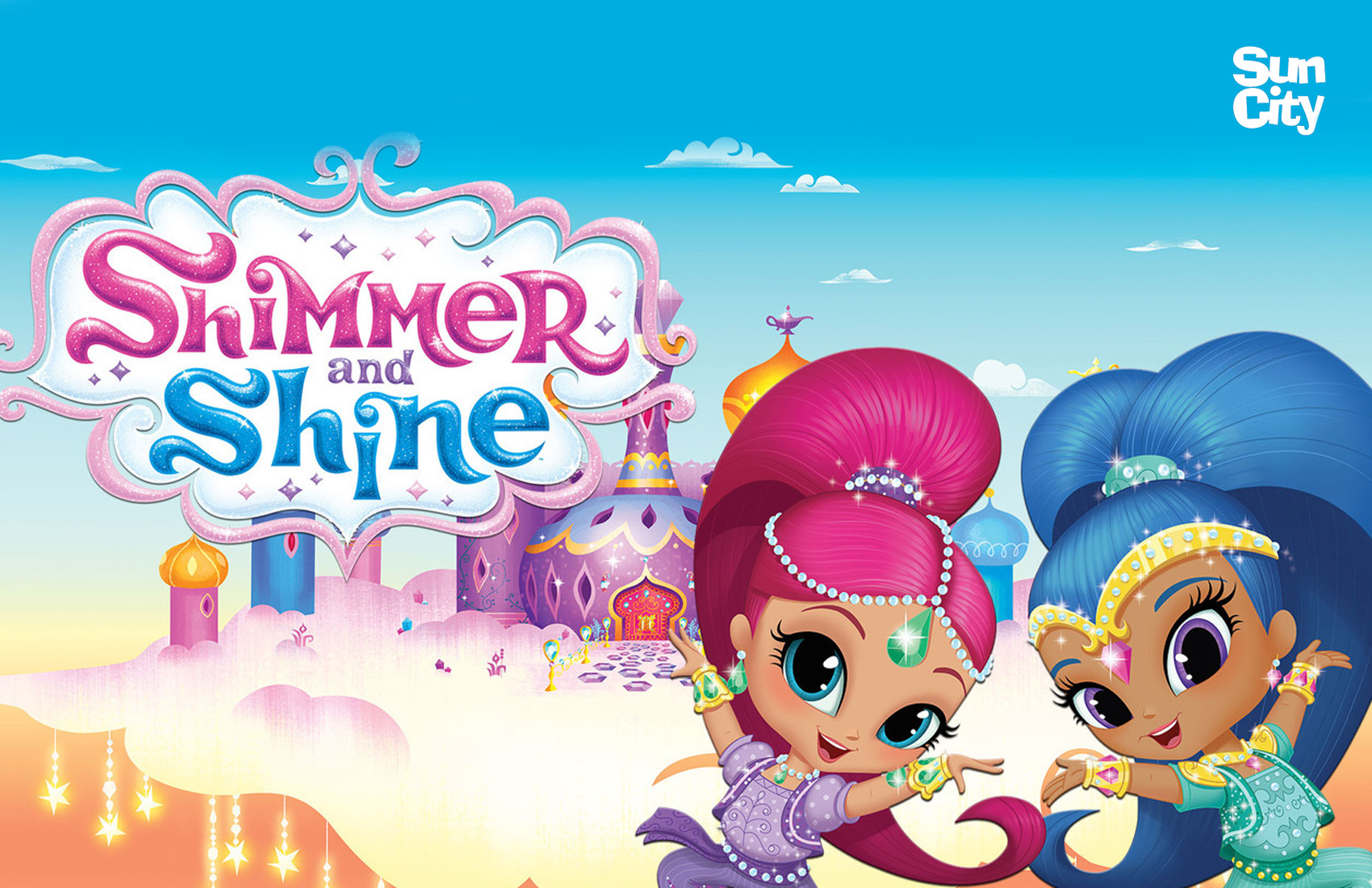 Roupa e Acessórios Shimmer and Shine | Sun City Ibérica
