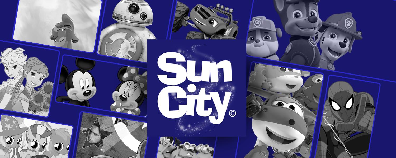 Grossista e Armazenista de Licenças de Roupa de Criança | Sun City