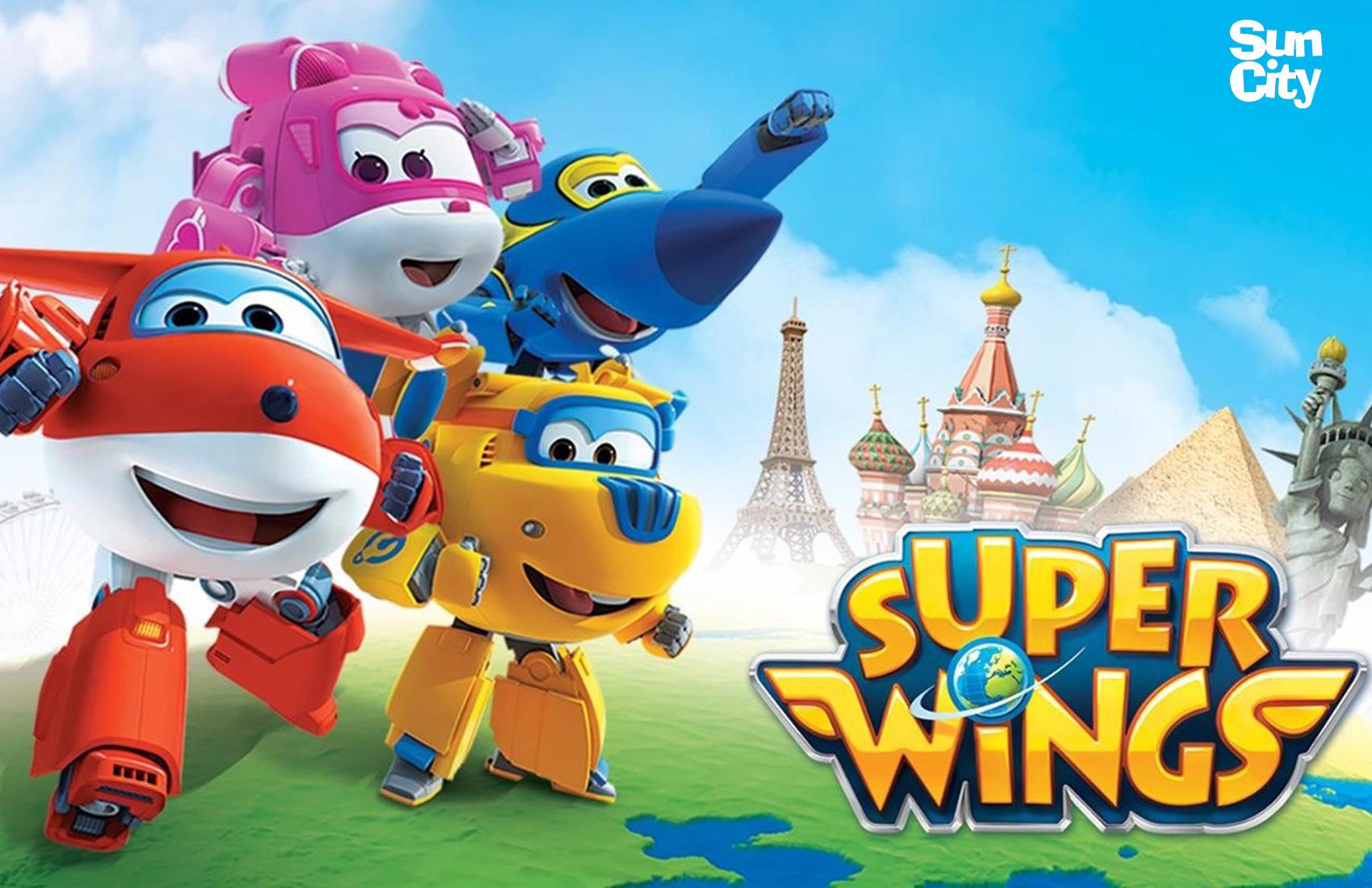 Roupa e Acessórios Super Wings | Sun City Ibérica